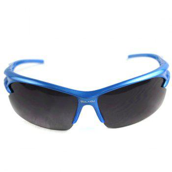 Explosionproof Sports Sun Glasses for Outdoor Activities - BLUE BLUE