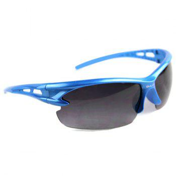 Explosionproof Sports Sun Glasses for Outdoor Activities -  BLUE