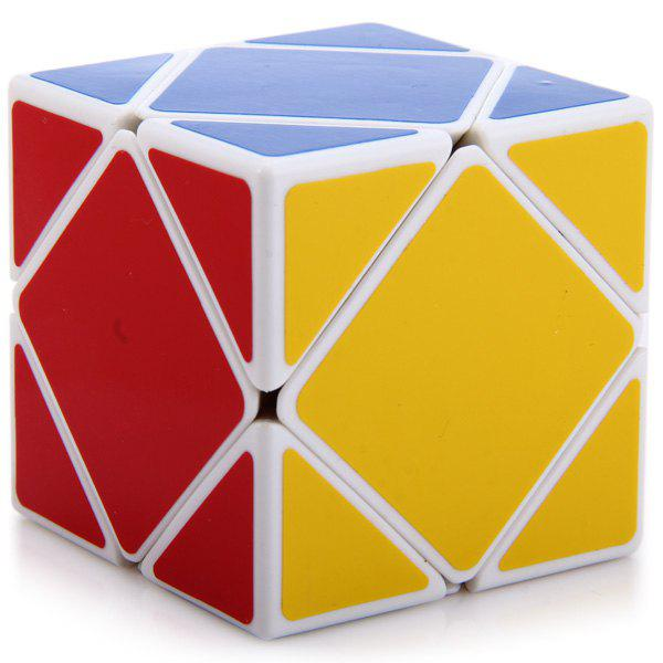 Shengshou Creative Skewb Speed ​​Puzzle Cube Casse-tête - Blanc