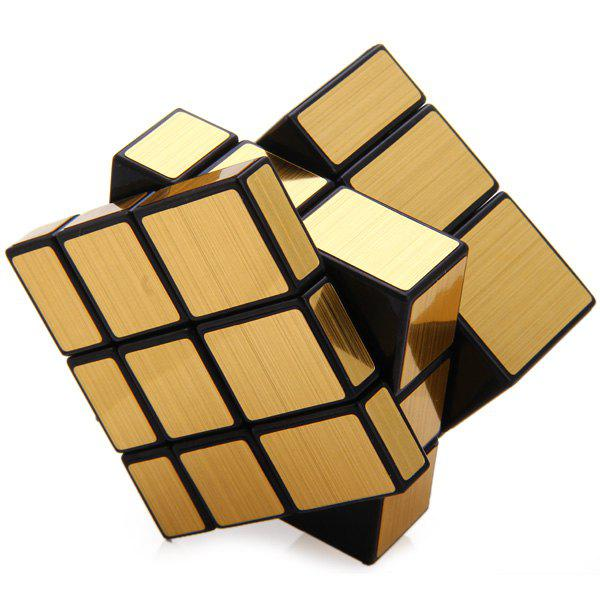 Shengshou Creative 3 x 3 x 3 Golden Mirror Speed Cube Brain Teaser ToyHome<br><br><br>Color: GOLDEN