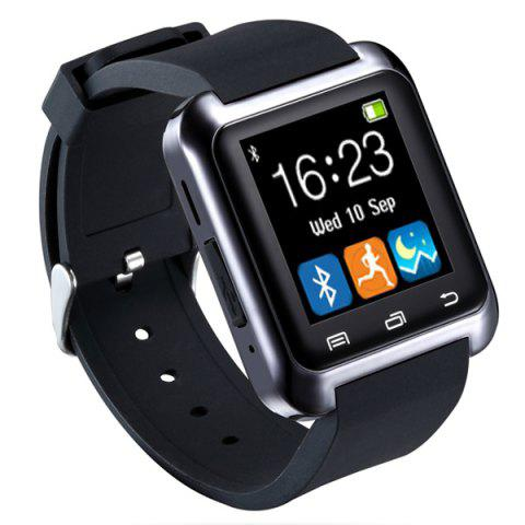 U8 Smart Watch with Pedometer Function - BLACK