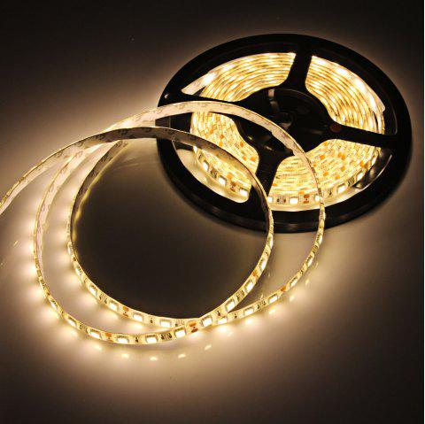 5M 4200LM 72W SMD 5050 300 LEDs Ribbon Light Water-resistant Strip Lamp ( 2700 - 3200K ) - WARM WHITE LIGHT