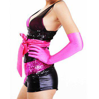Sexy Color Block Sequined Dancewear For Women - ONE SIZE(FIT SIZE XS TO M) ONE SIZE(FIT SIZE XS TO M)