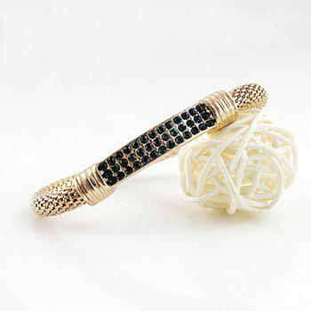 Rhinestoned Alloy Bracelet - COLOR ASSORTED