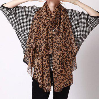 Charming Leopard Pattern Scarf For Women