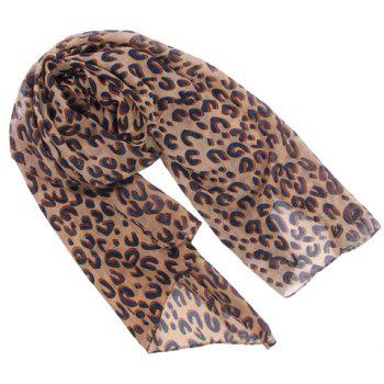 Charming Leopard Pattern Scarf For Women - COLORMIX