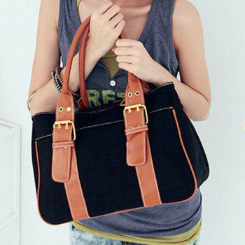 Buckle Design Tote Bag For Women