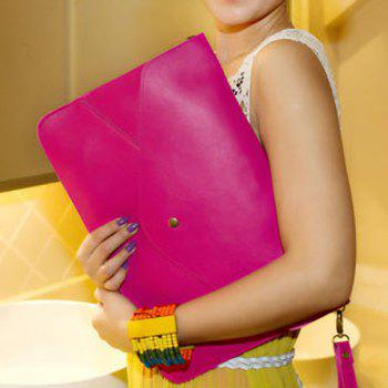 Fashionable Rivet and Envelop Design Clutch Bag For Women