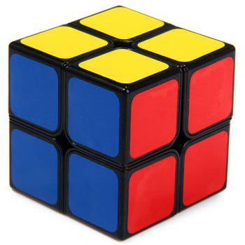 Shengshou 7106A - 3 Magic Cube Aurora Creative 2 x 2 x 2 Tuning Spring Pocket Brain Teaser Toy