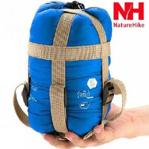 NatureHike 320D Nylon Keep Warm Sleeping Bag Sack for Outdoor Camping - 190 x 75cmHome<br><br><br>Color: BLUE