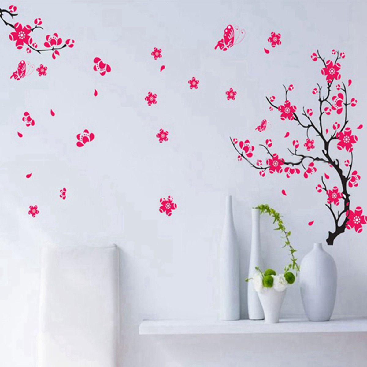 Peach Blossom Style Wall Sticker Home Appliances Decor Wall Decals peach cb 150e
