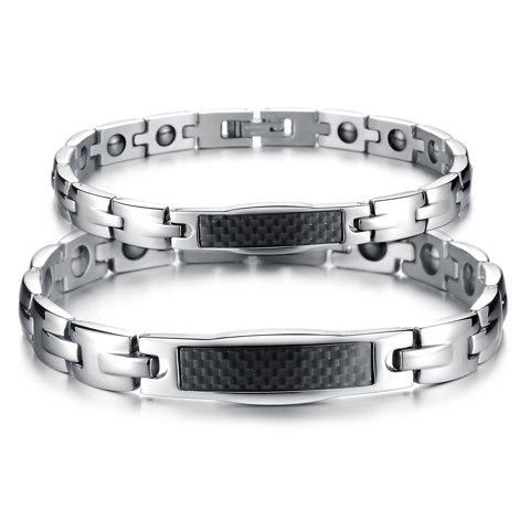 Trendy Link Bracelet For Lovers - FEMALE