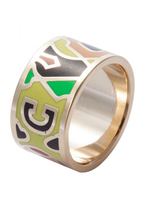 Round Colored Print Ring - COLORMIX 20