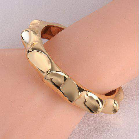Chic Gear Shape Design Alloy Bracelet For Women - GOLDEN