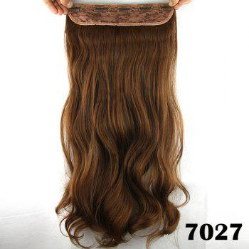 Stylish Long Loose Wave Light Brown Charming Heat Resistant Synthetic Women's Hair Extension -  LIGHT BROWN