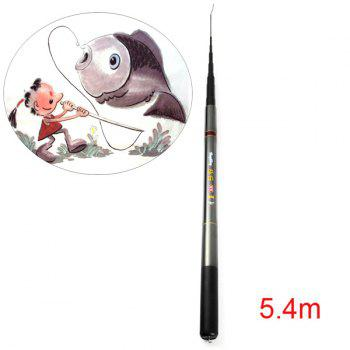 HengSheng Telescopic  5.4m High Carbon Fishing Rod Pole Stick Pro Angler Necessary