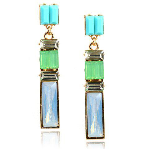 Pair of Chic Geometric Shape Earrings For Women
