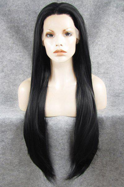 Charming Long Straight Heat-Resistant Synthetic Wig For Women -