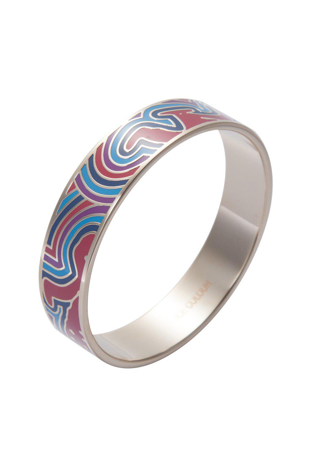 Chic Round Printed Bracelet - COLORMIX