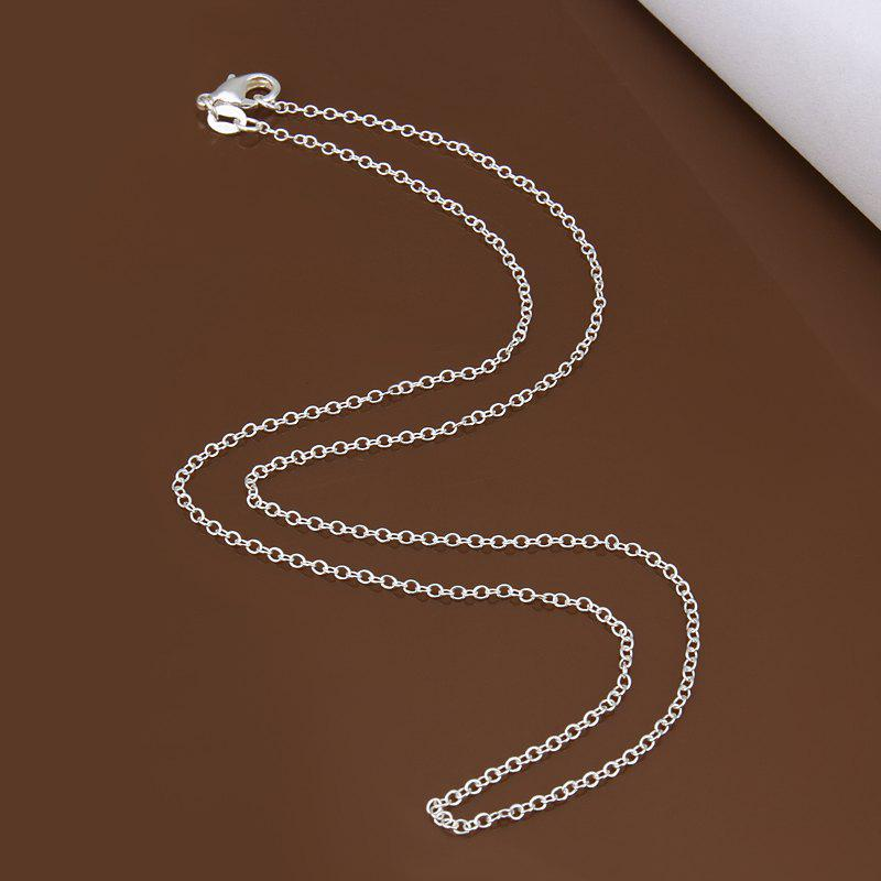 Nude Slender Link Necklace For Women - AS THE PICTURE