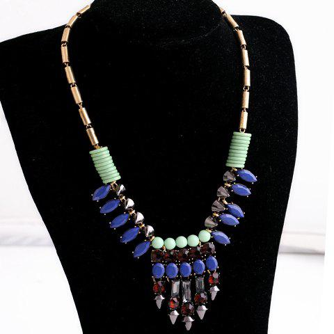 Beads Decorated Luxury Necklace For Women - AS THE PICTURE