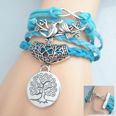 Weaved Birds Tree Pattern Friendship Bracelet