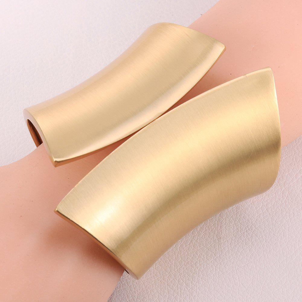 Chic Solid Color and Special Shape Design Alloy Bracelet For Women