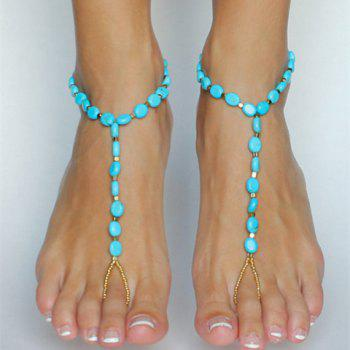 ONE PIECE Stylish Chic Beads Embellished Anklet For Women