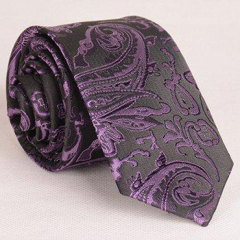 Vintage Various Embroidered Abstract Pattern Neck Tie For Men
