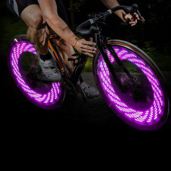 A08 Bicycle Cycling Tire Valve Cap Light Auto Light / Shake Sensation Bulb with 15 Patterns in Change
