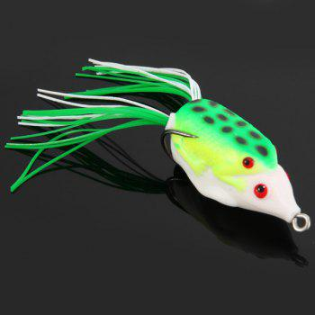 Yoshikawa 5pcs Lifelike Frog Shaped Soft Fishing Lure 10cm Bait with Hooks - NO.03 NO.03