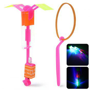 HY 558A Arrow Helicopter LED Flying Faery Children Toys for Outdoor Entertainment