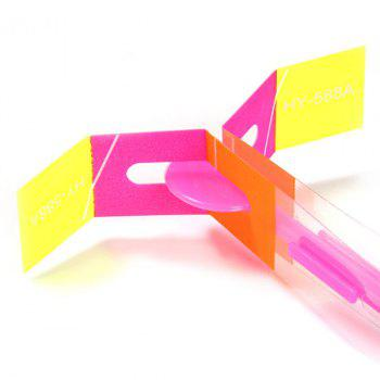 HY 558A Arrow Helicopter LED Flying Faery Children Toys for Outdoor Entertainment - PINK