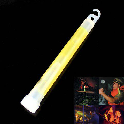 Outdoor Fluorescence Rescue Indicator Signal Luminous Camping Tent Pendant - YELLOW