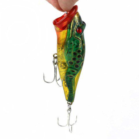 Frog Bionic Bait with Built-in Steel Ball - AS THE PICTURE