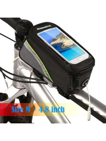 8dfda9a78b1 Roswheel 12496 Bicycle Mountain Bike Frame Tube Mobile Phone Case with  Touchscreen + Reflective Stripe