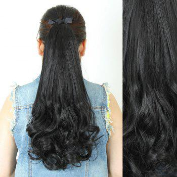 Fluffy Stylish Long Wavy Charming Heat Resistant Synthetic Women's Ponytail