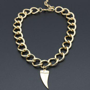 Charming Horn Shape Pendant Necklace For Women