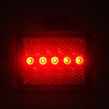 Bright Bicycle Charging Taillight 5 LED Bike Warning Tail Light