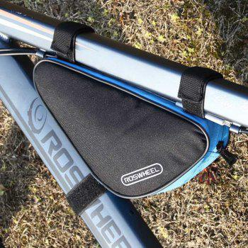 Roswheel 12657 1.5L Capacity Quick Release Bicycle Front Frame Pipe Bag Cycling Bike Triangle Bag