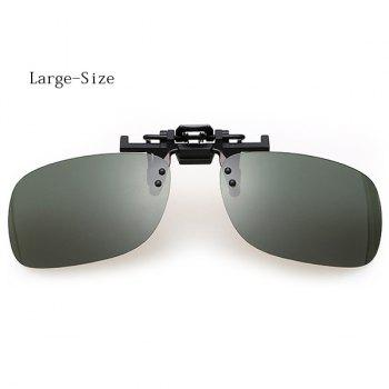 Fashion Short Sightedness Clip-on Lens Daytime Sunglasses for Both Men and Women
