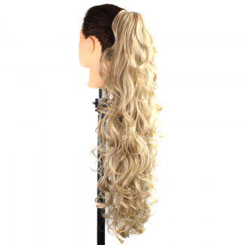 Graceful Heat Resistant Synthetic StylishLong Curly Capless Ponytail For Women -