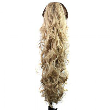 Graceful Heat Resistant Synthetic StylishLong Curly Capless Ponytail For Women - 16#