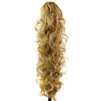 Graceful Heat Resistant Synthetic StylishLong Curly Capless Ponytail For Women - F /