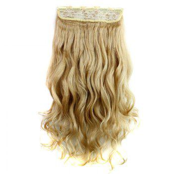 Trendy Heat Resistant Synthetic 23 Inch Clip-In Long Curly Women's Hair Extension -   /