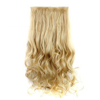 Trendy Heat Resistant Synthetic 23 Inch Clip-In Long Curly Women's Hair Extension - 27/613#  /