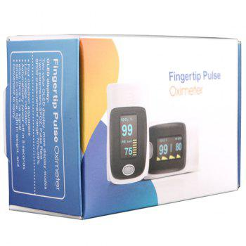 RZ001 Fingertip Pulse Oximeter SpO2 Rate Oxygen Monitor with 4 Directions Display / Low Power Indication - COLORMIX