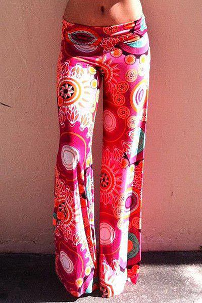 Brilliant  Ethnic Printed Exumas Pants For Women S WHITE  Pants  Rosewholesale