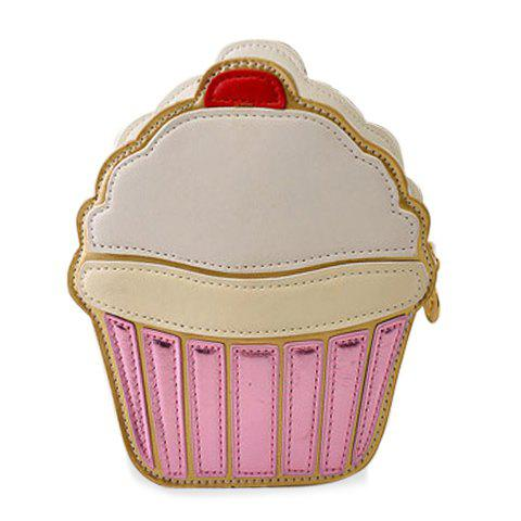 Sweet Cake and Color Matching Design Crossbody Bag For Women