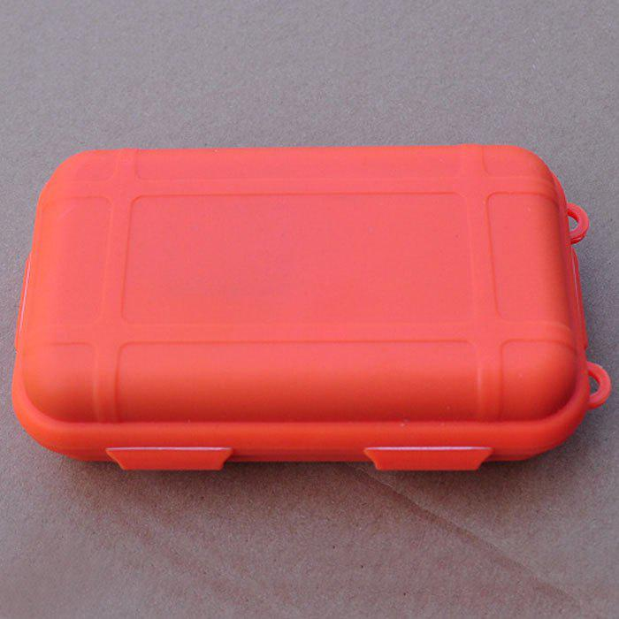 Portable Outdoor Life Preserver Tools Storage Box for Small Stuffs Waterproof Shockproof Press Resistant uwinka mc u6c multi in 1 water resistance shockproof memory card storage box red
